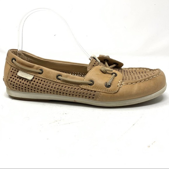 Sperry Top Sider Coil Ivy Boat Shoes Women Size 10